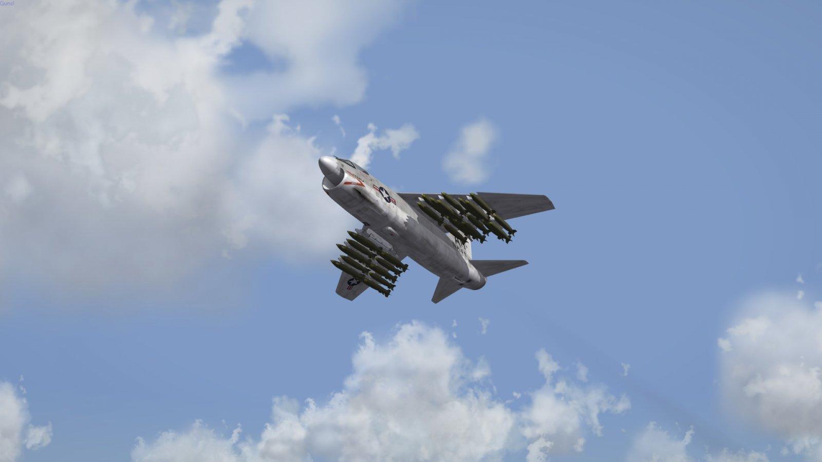 A-7 / MK82 Bomb