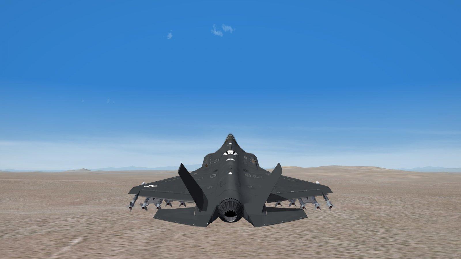 F-35 Lightning II Combat Air Patrol