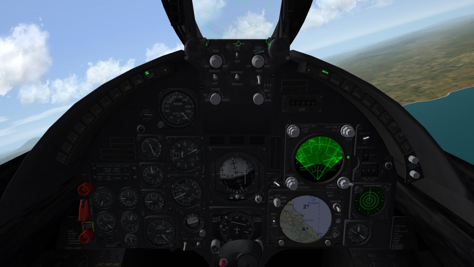 A-7E Cockpit