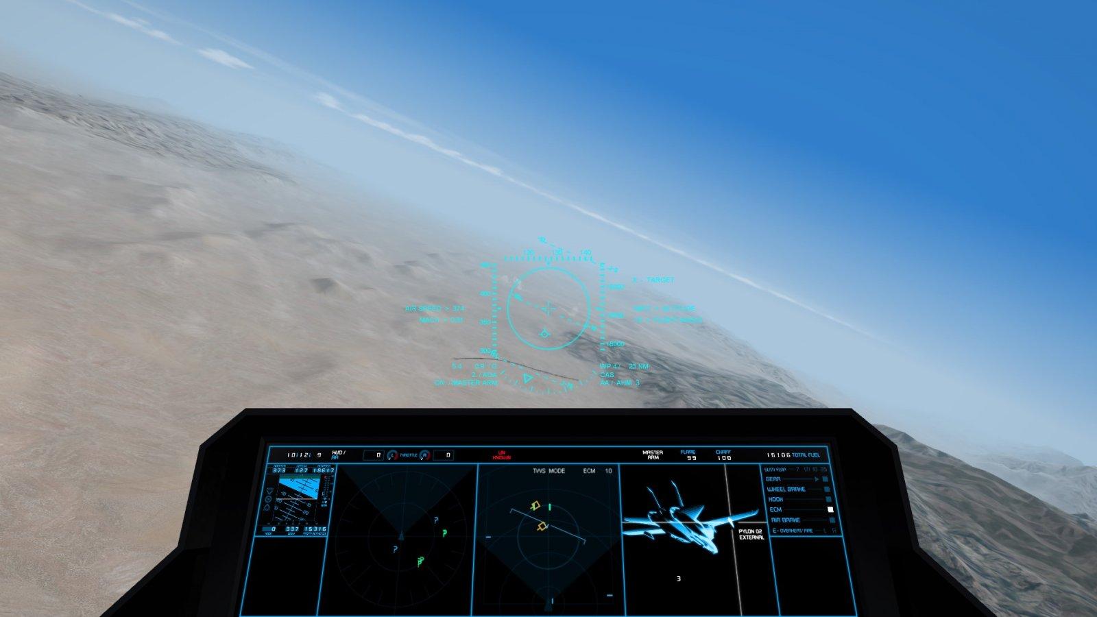 F-14Z Cockpit LOCKING