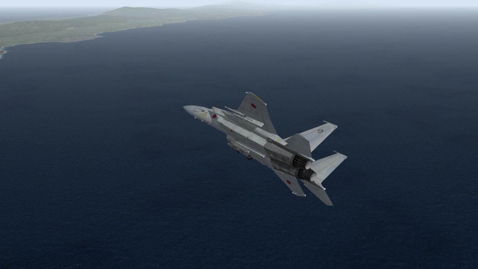 F-15J Eagle on the Hunt