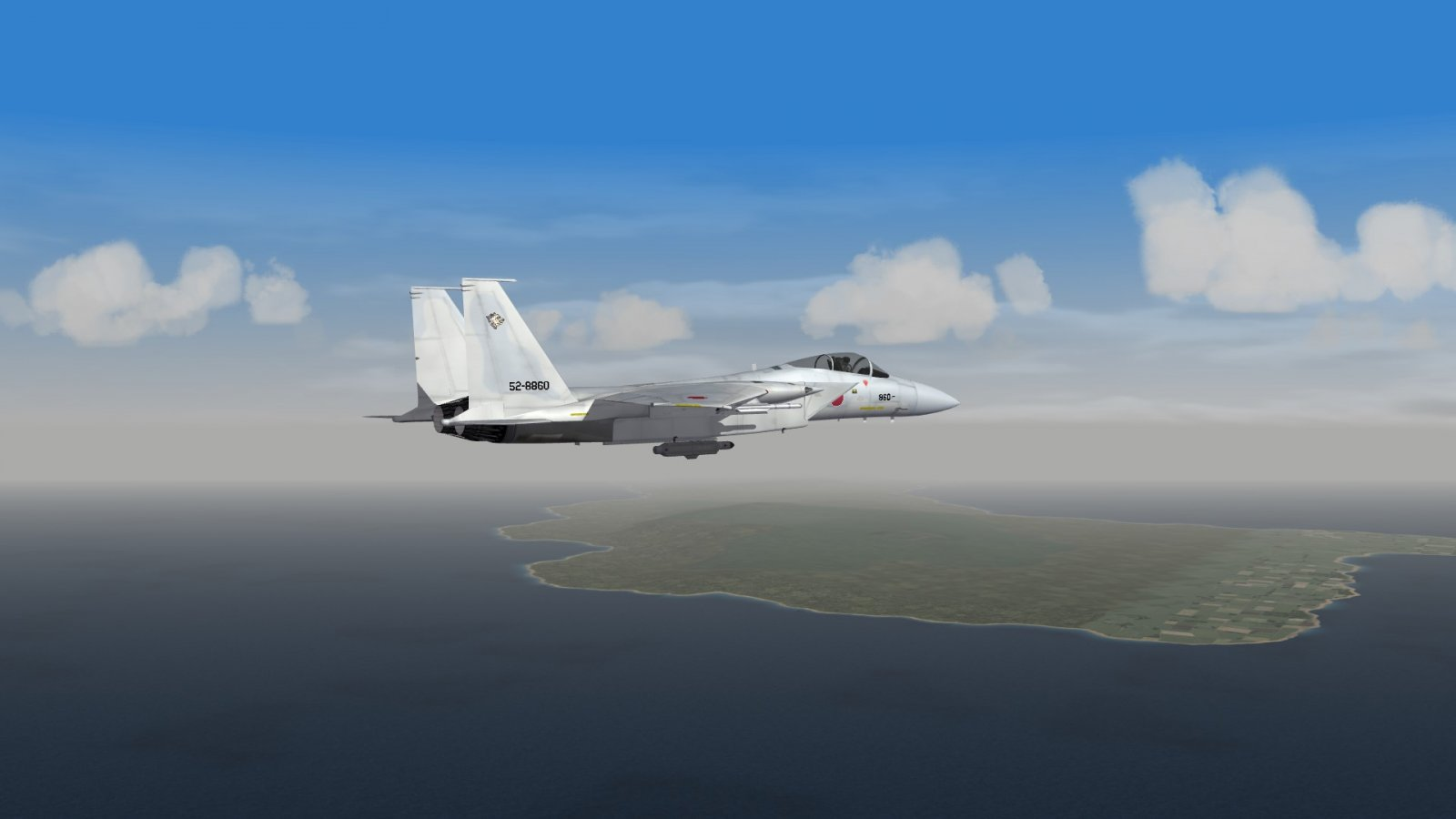 F-15J Patrolling the Great North of Japan