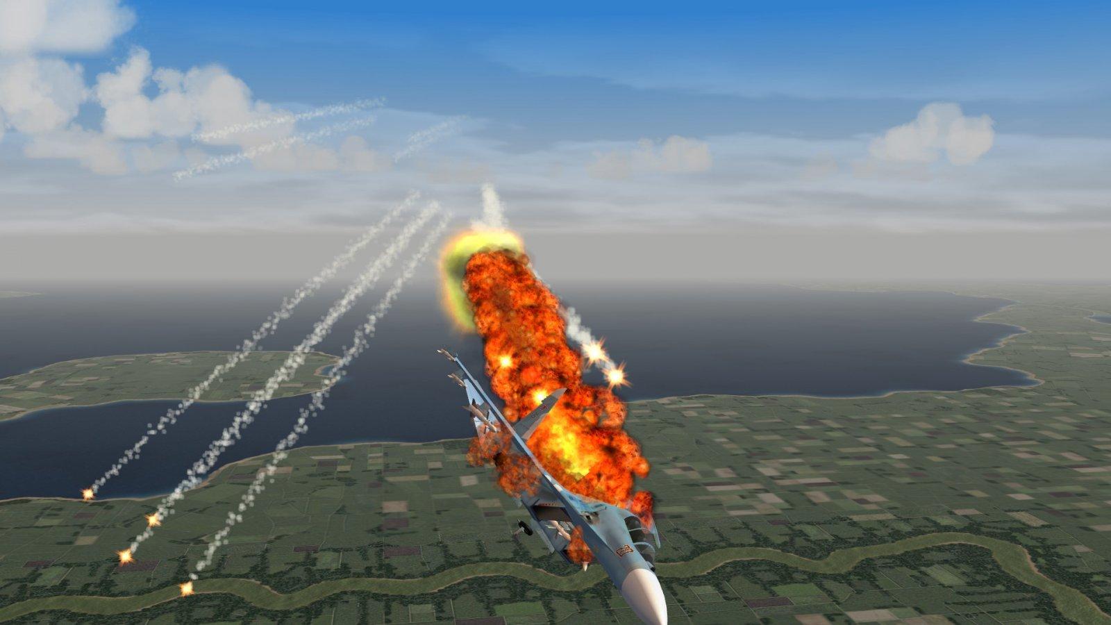 Gee, Flares Didn't Work, eh?