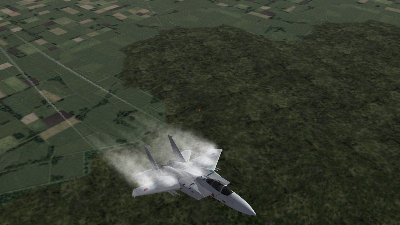 F-15J Pulling Up and Vaping