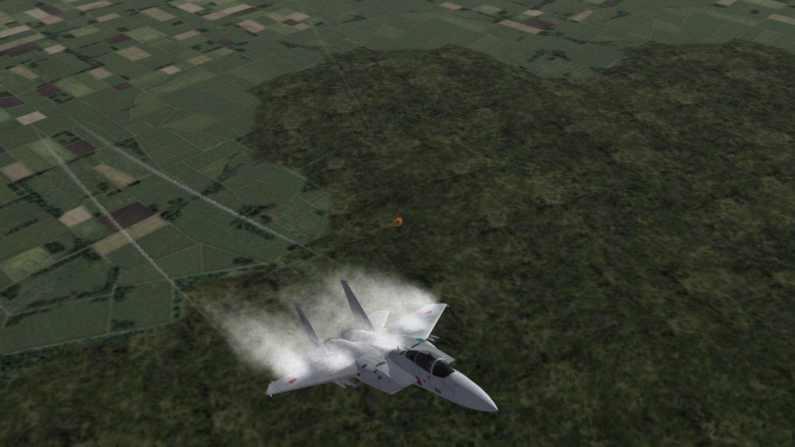 F-15J Just Splashed A Flanker