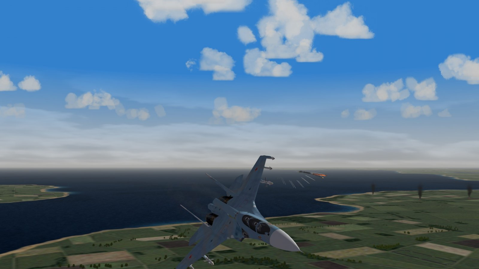 Su-30 Evading Intercept 2