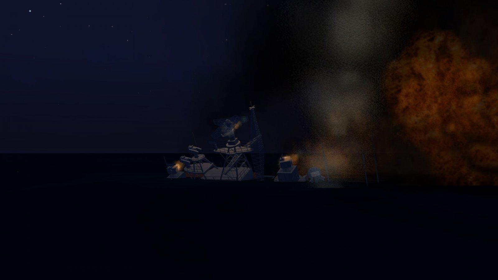 Russian Ship Sinking