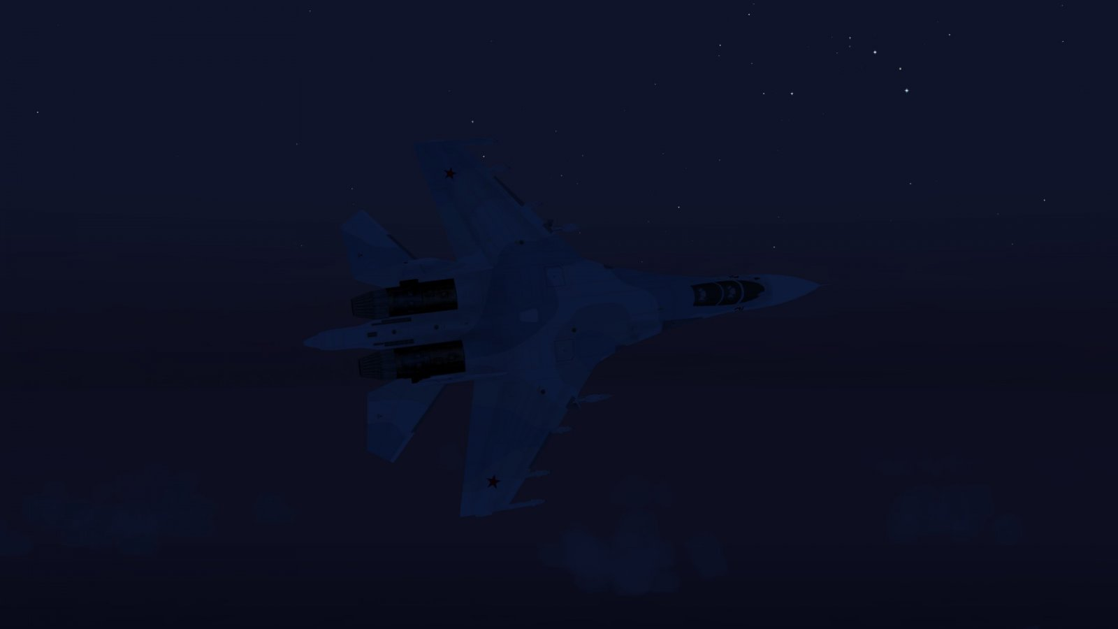 Su-30 Against the Sky