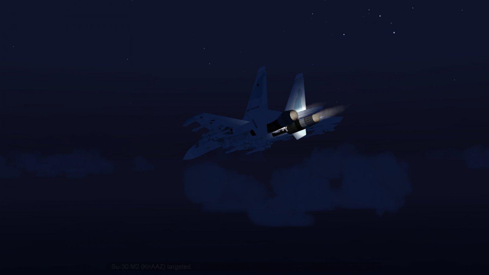 Su-30 in Afterburner