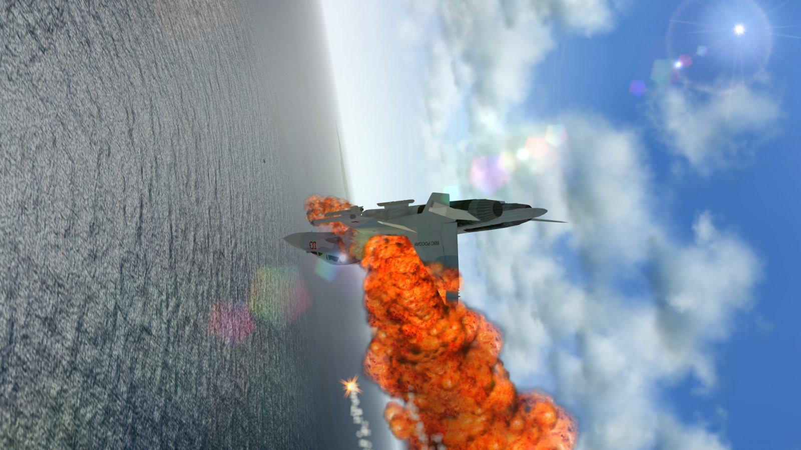 Tumbling Su-30