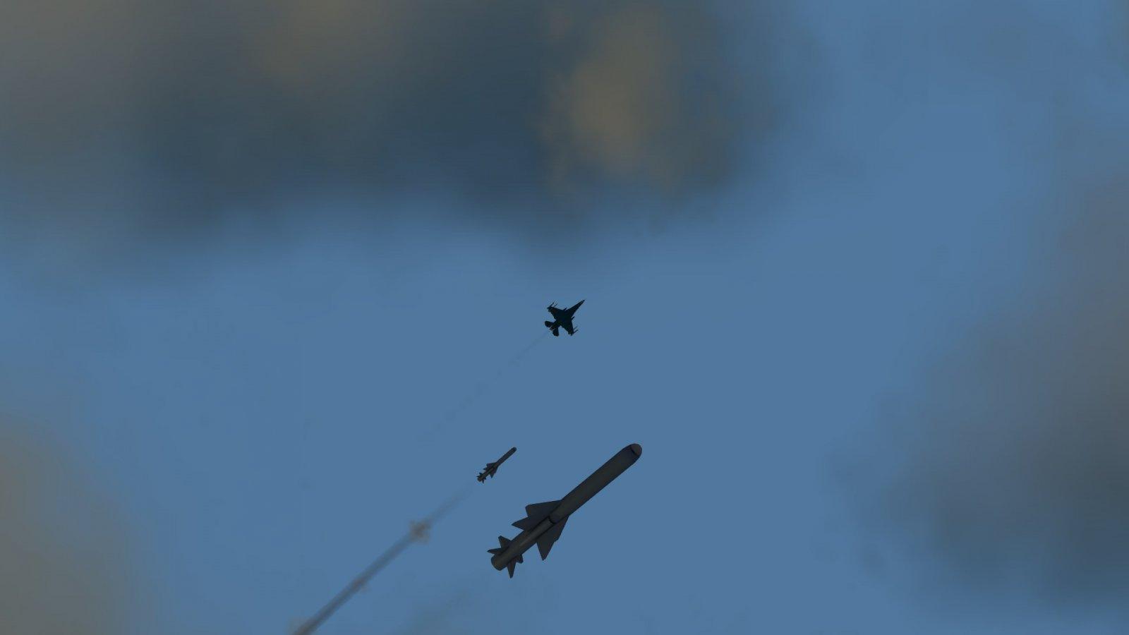 F-2A Firing ASM-2s
