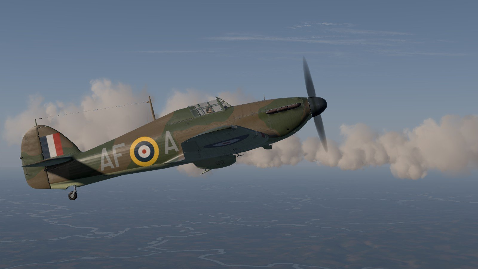 Cliffs of Dover Blitz - RAF redux campaign - gaining height
