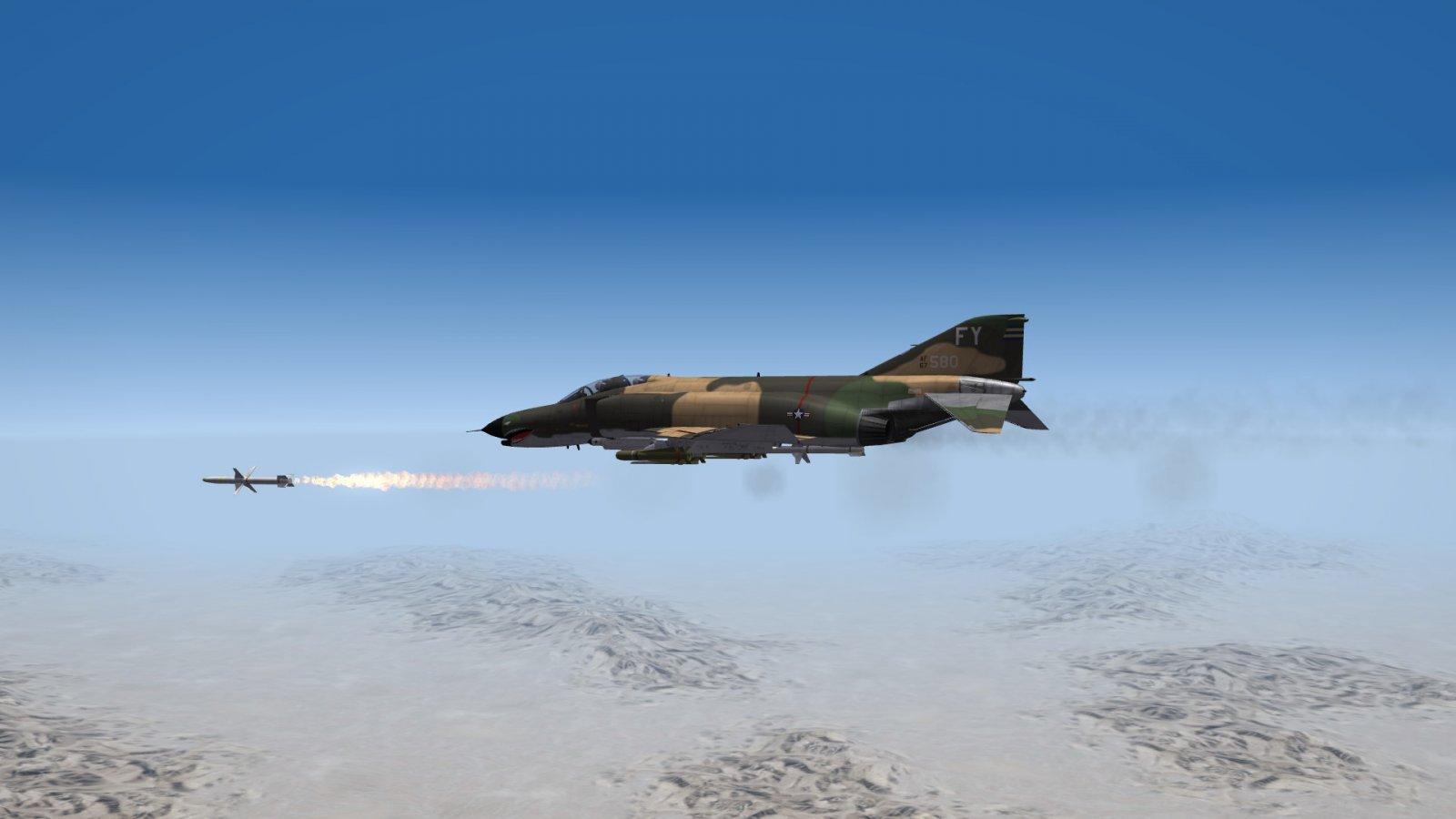 AGM-88A HARM FİRE