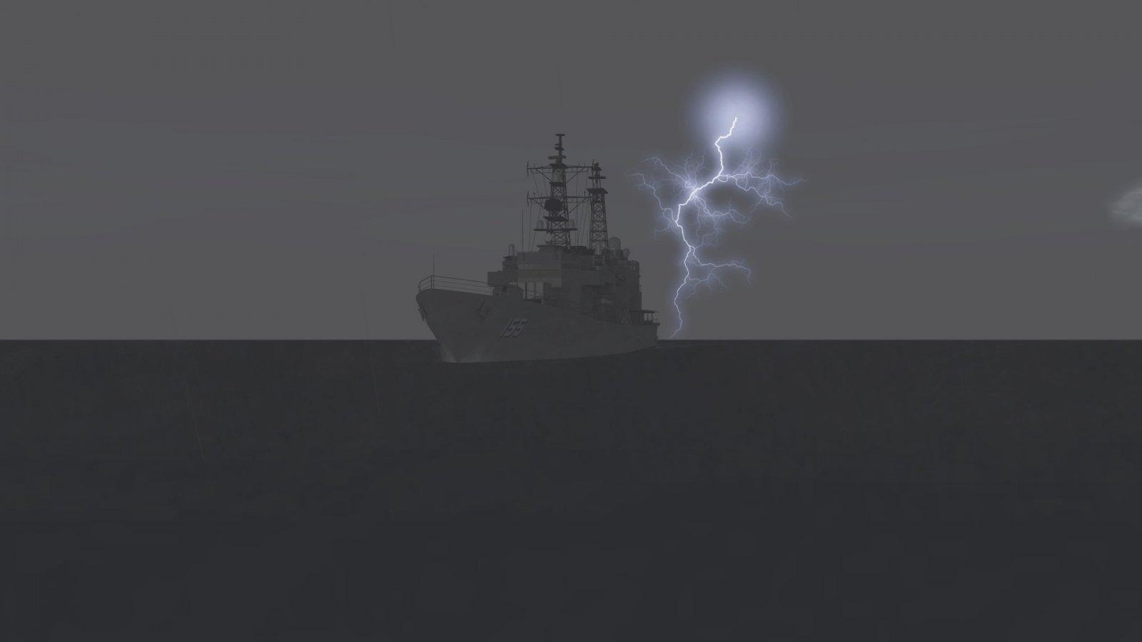 JDS Hamagiri and Lightning 1