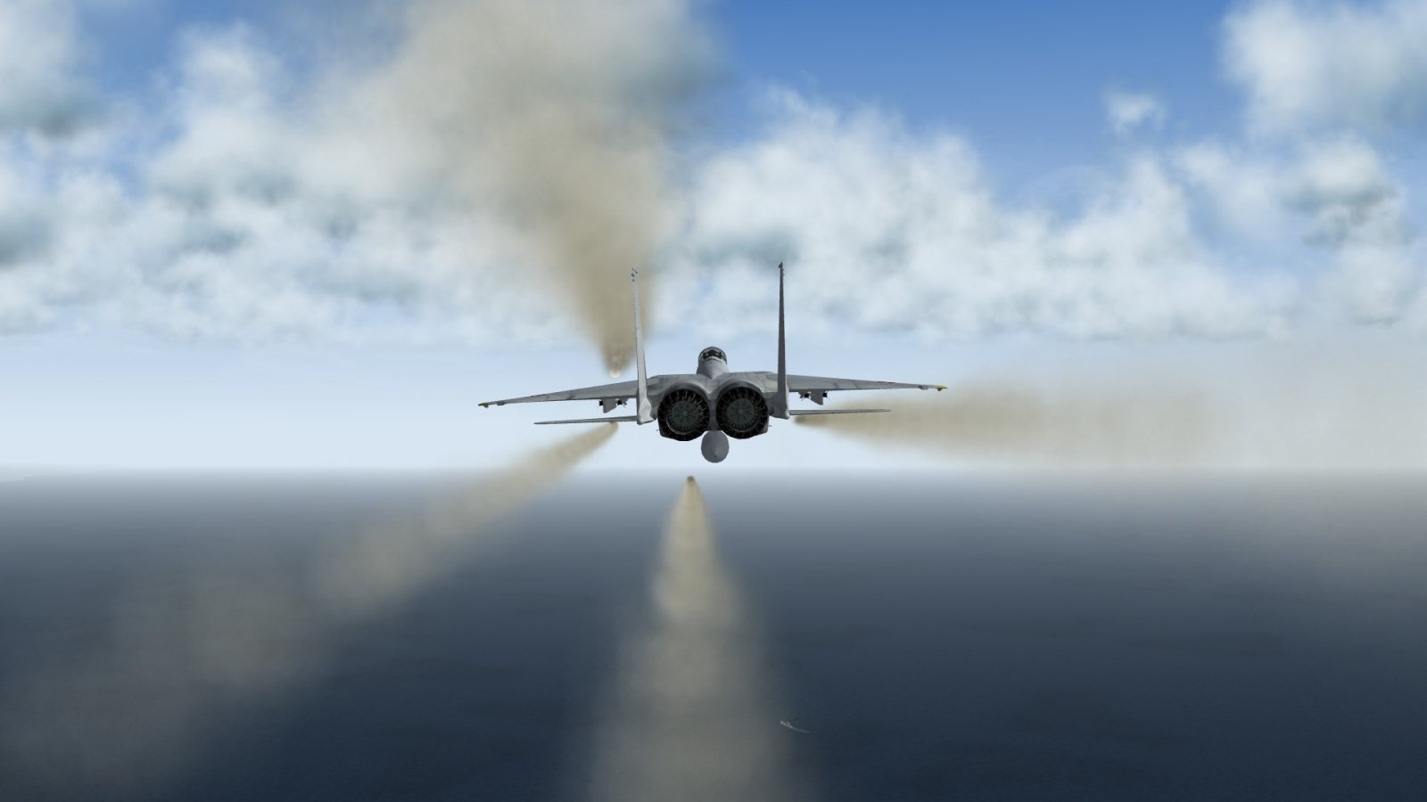 What's Left Behind After Four AAM-4Bs Fired From F-15J