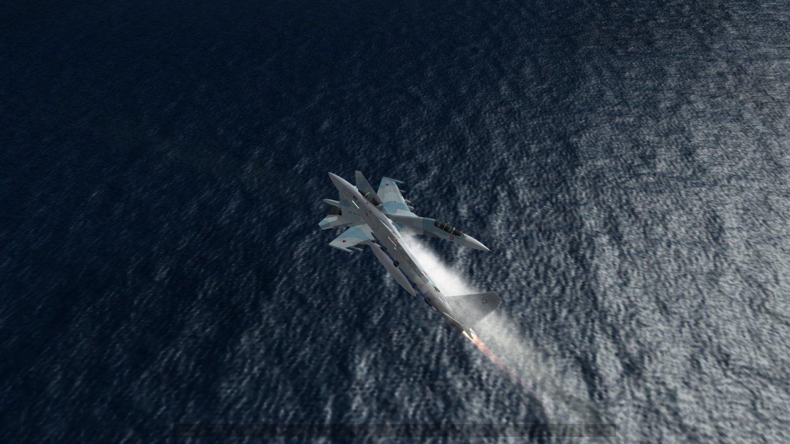 Most Aggressive F-15J Eagle Intercept of Su-30 Flanker