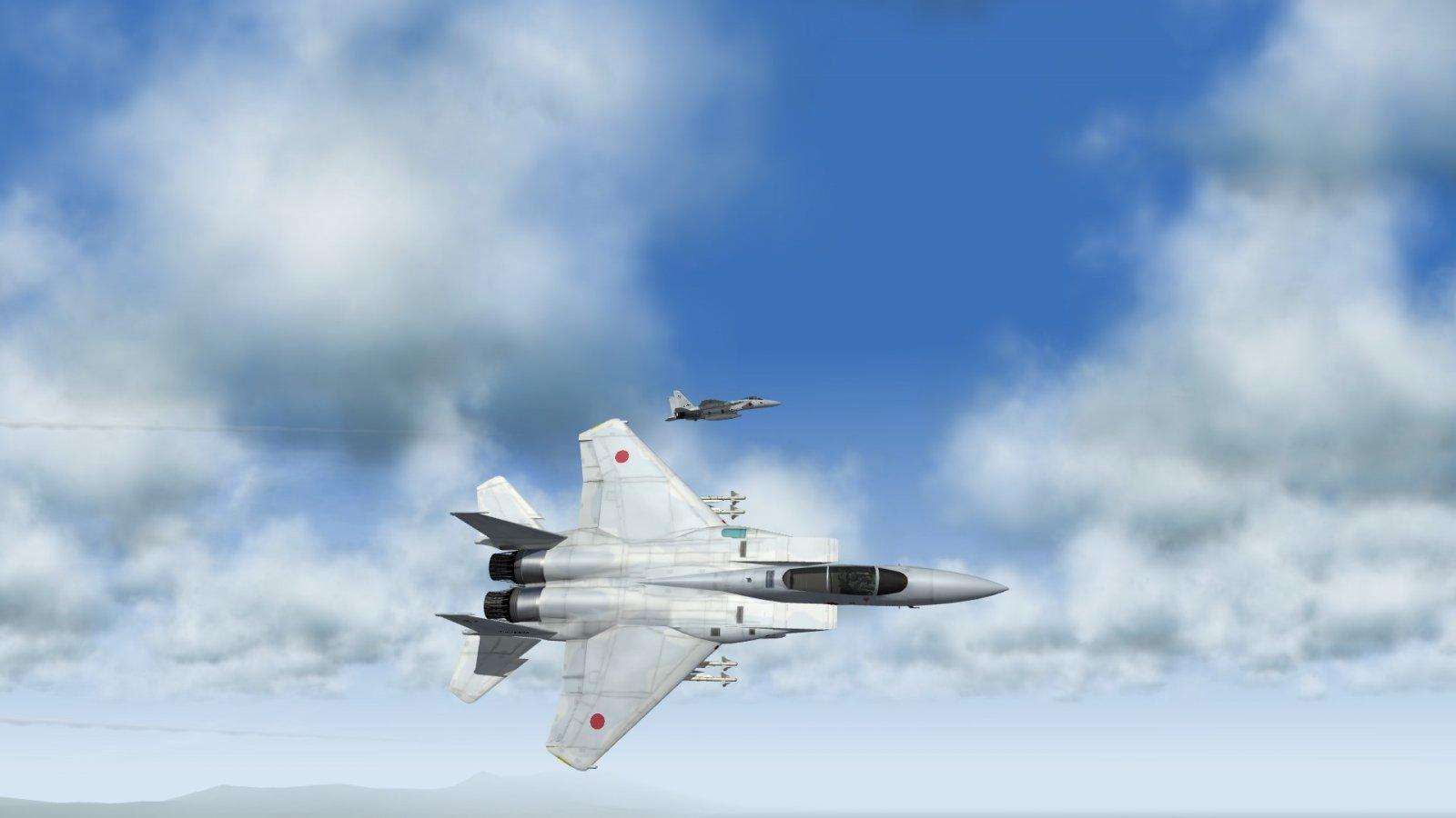 Alert JASDF F-15J Eagles In A Combat Break