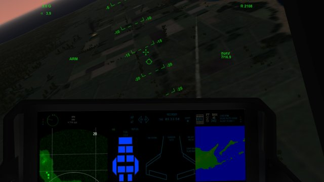 Watching A Hellfire Fly From A F-35A Cockpit