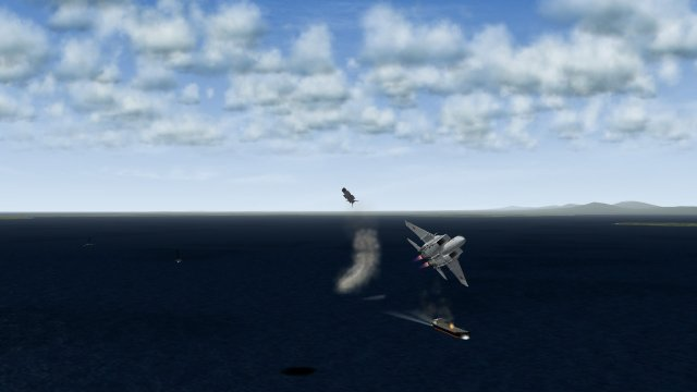 F-15J Firing Off AAM-5 2 - As the AAM-5 Banks