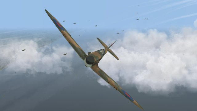 Battle of Brtain II - 20 July 1940 - attacking Heinkels bound for Tangmere