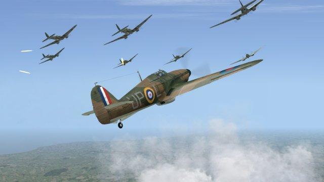 Battle of Britain II - Hurricane -v- Heinkels