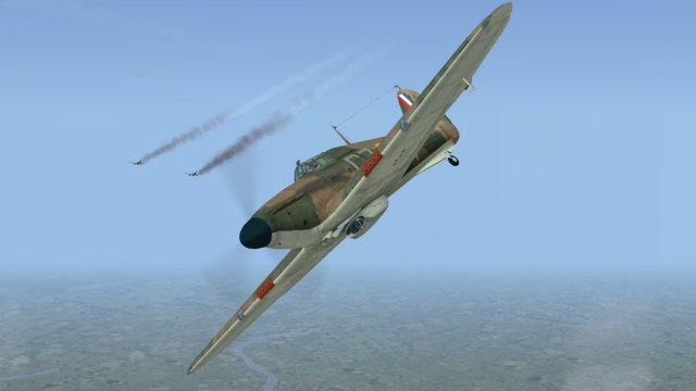 Battle of Britain II - stragglers!