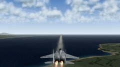 F-15J Eagle Firing Off Four AAM-4Bs In Rapid Succession