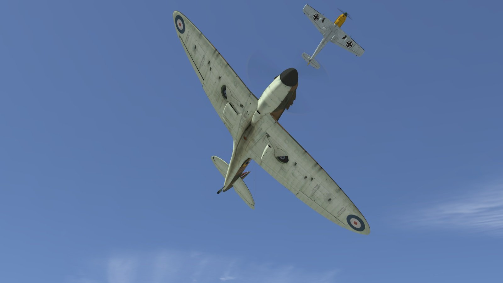 609 Squadron intercepts Hostile 101, 23 July 1940 - Battle of Britain 2