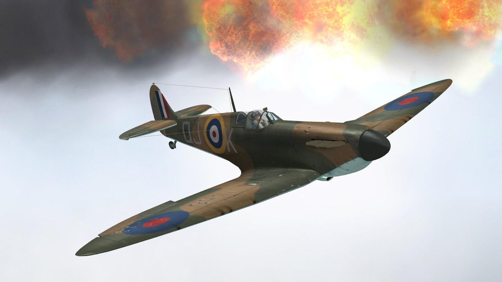 Battle of Britain II - 23 July 1940 - 92 Squadron intercepts Hostile 202