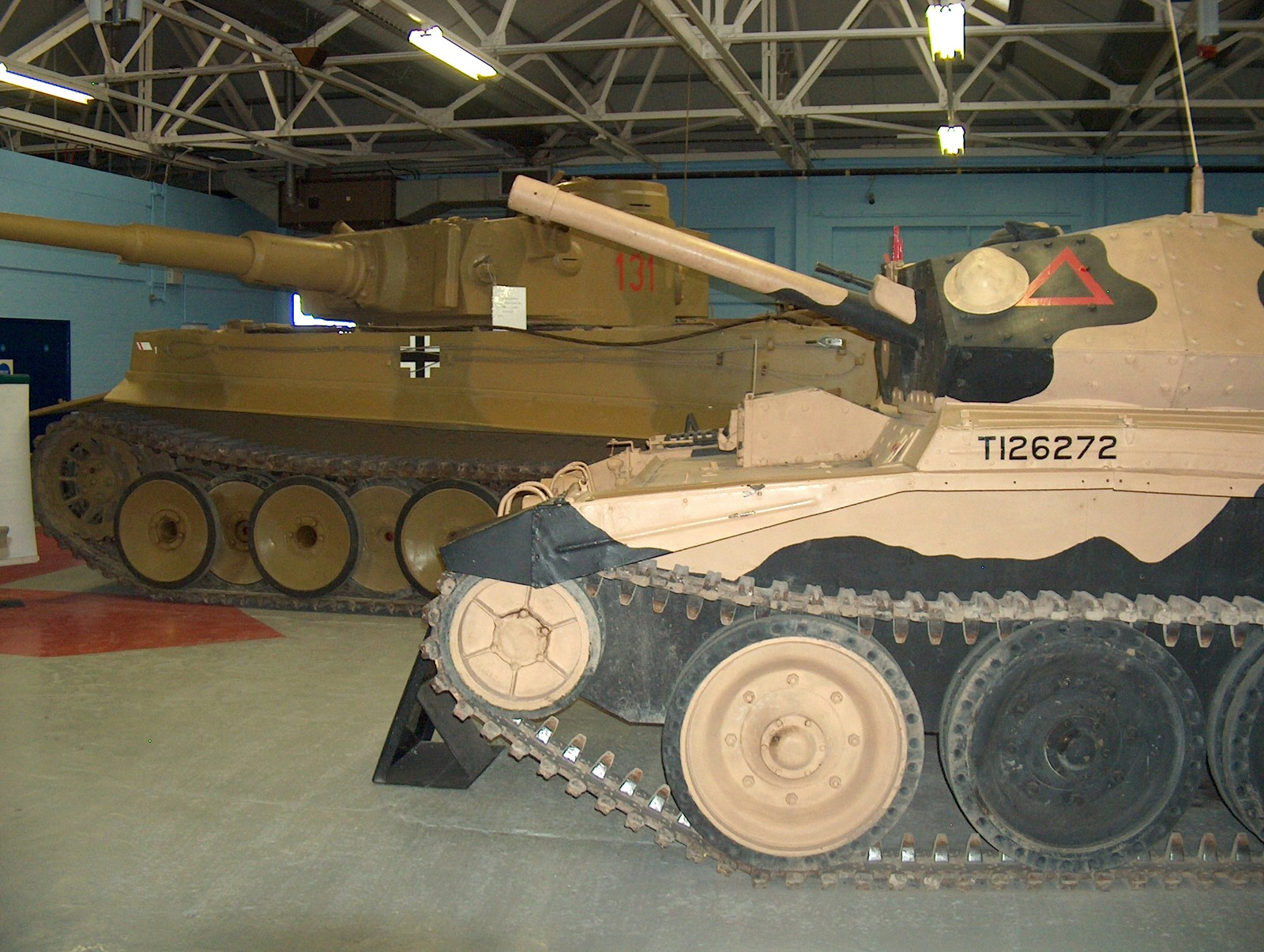 Tiger 131 & Crusader