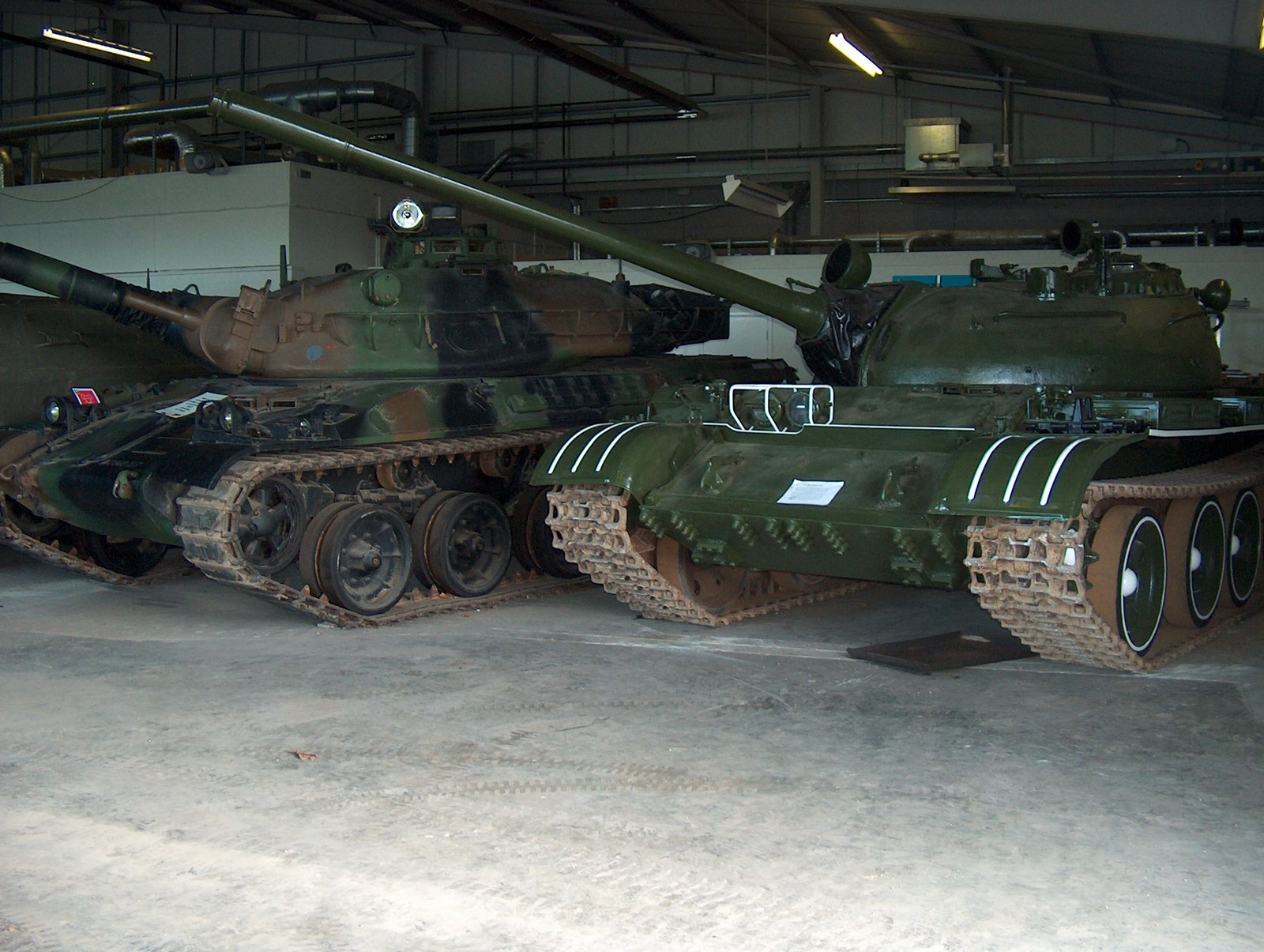 AMX-30 and T-54