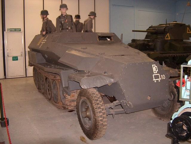 Hanomag Sdkfz 251/1 Schutzen Panzer Wagen