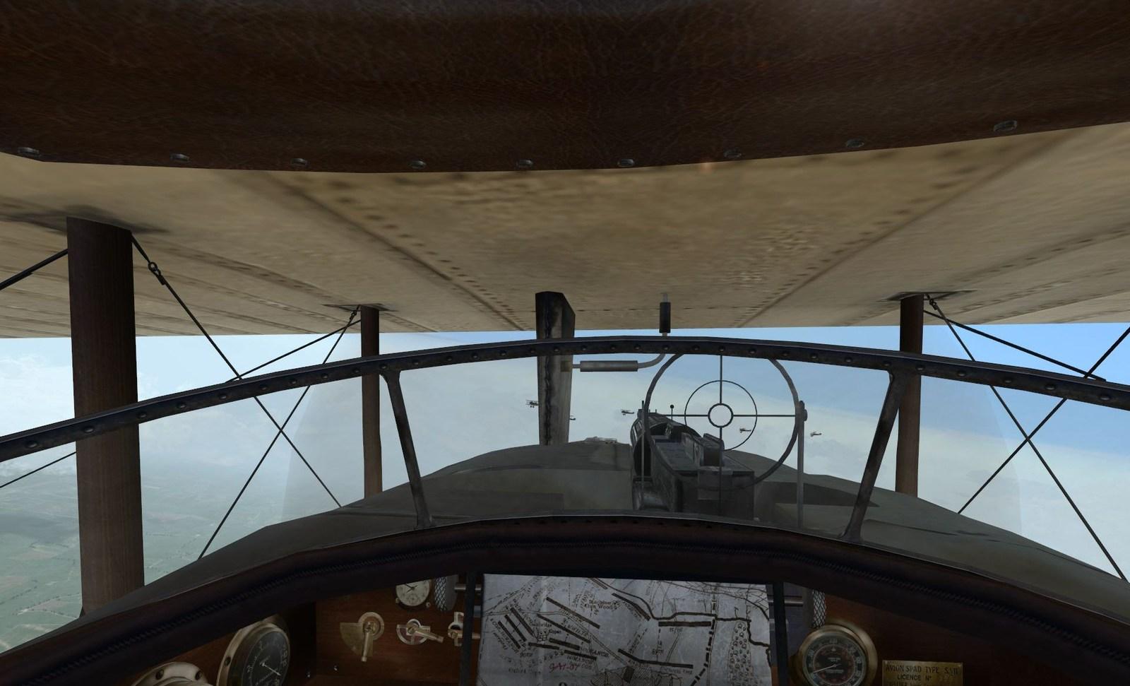 1sr May 1918, Spa 77 patrol mission
