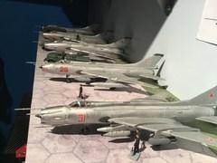 1/72nd and 1/48th Su-7 and Su-17 kits