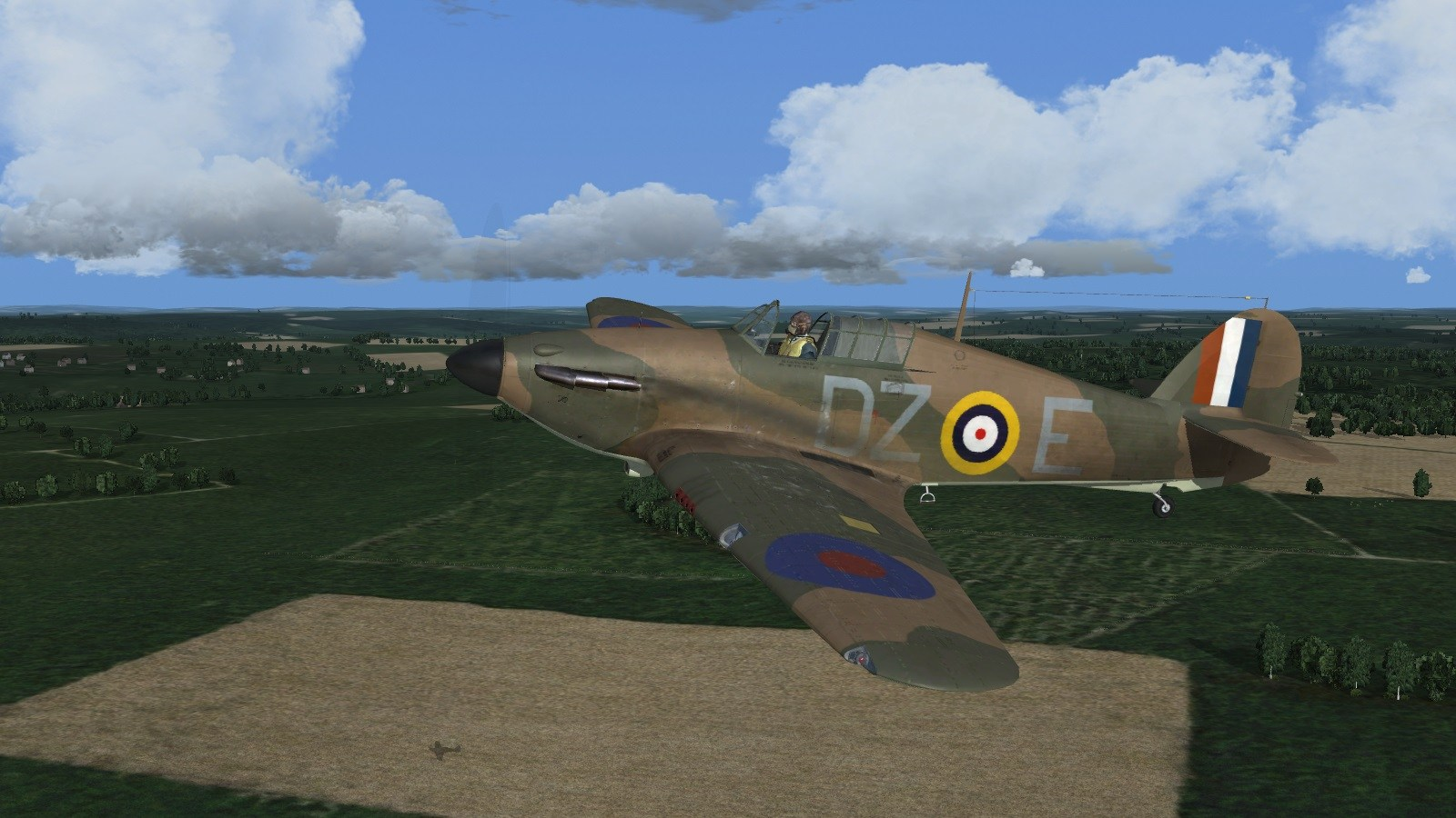 Wings over the Reich - 151 Squadron Hurricane