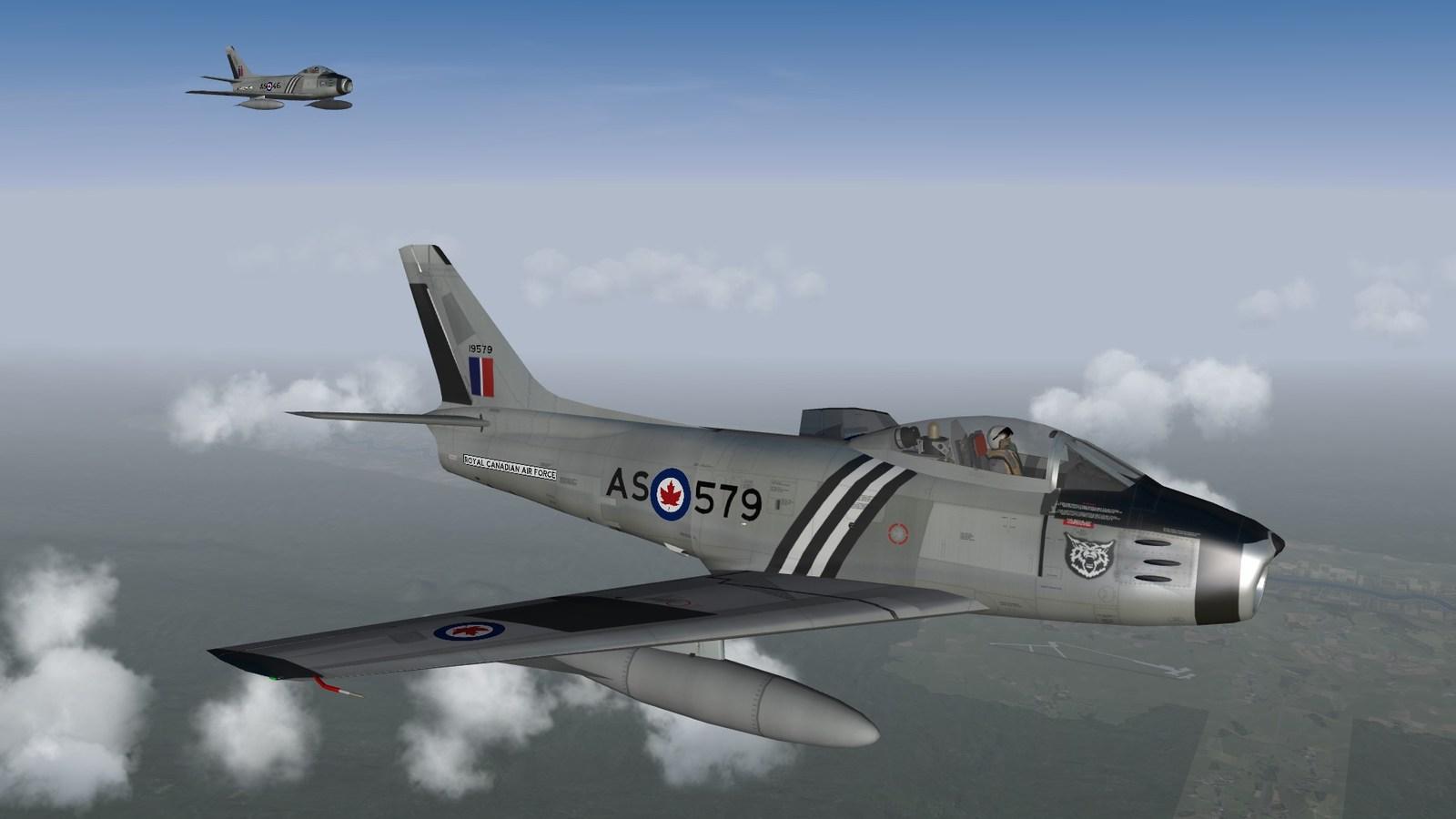 416 SQN Canadair Sabre