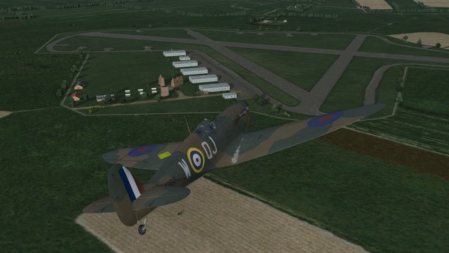 Spitfire Mk.I, 92 Squadron, Wings over the Reich Phase 1