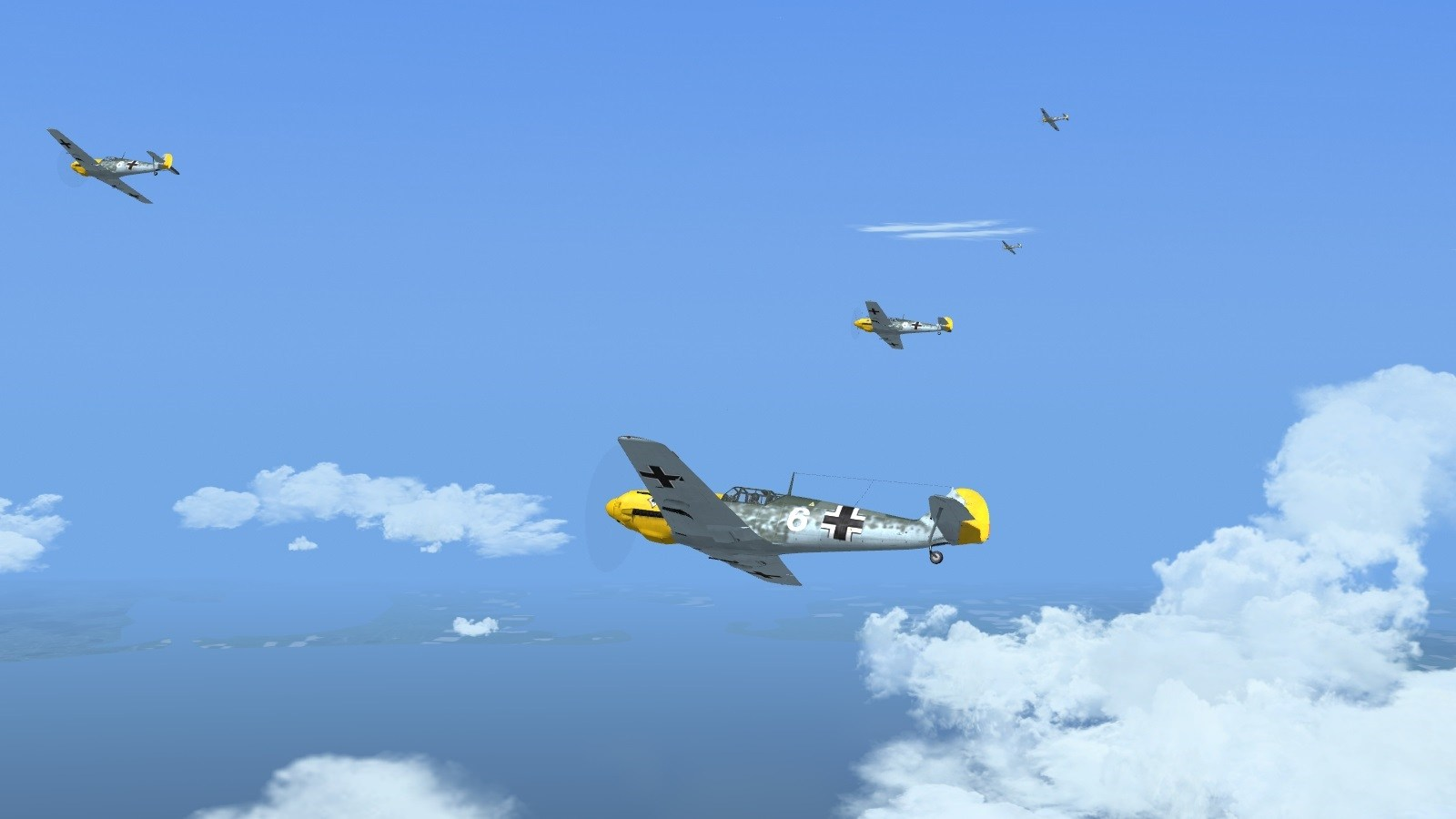 Wings over the Reich - JG53 Bf109s