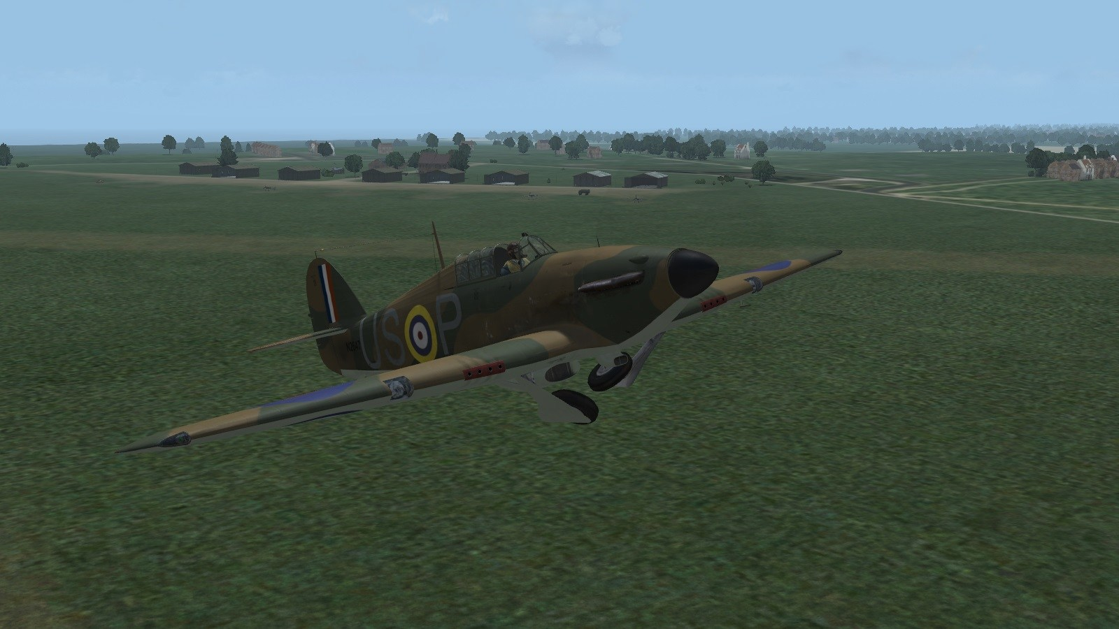 Wings over the Reich - 56 Squadron Hurricane