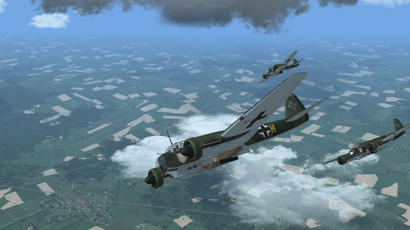 Wings over the Reich - Edelweiss Geschwader Junkers 88s