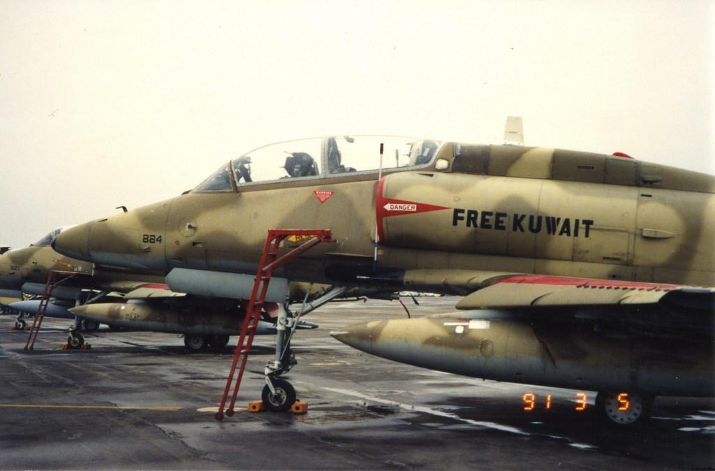 Kuwaiti Douglas A-4 Skyhawk