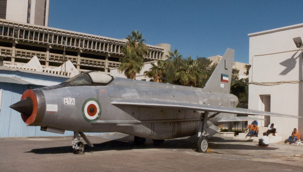 Kuwait Air Force English Electric Lightning and Jet Provost T.Mk5