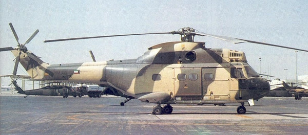 Kuwait Air Force Helicopters