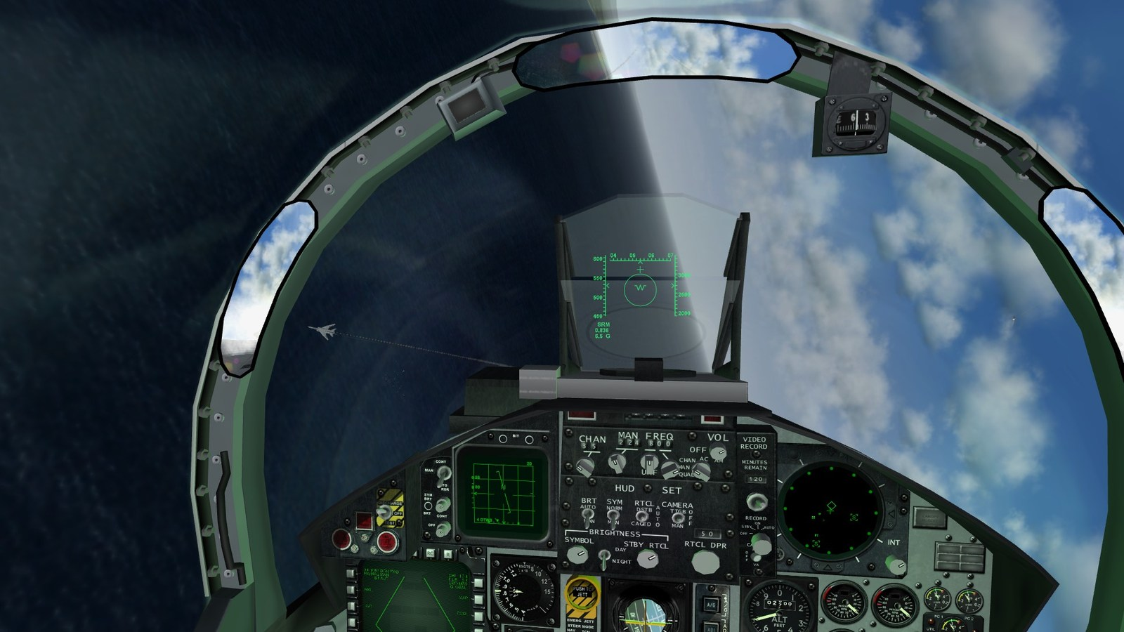 A Voracious Dogfight From A F-15J Cockpit