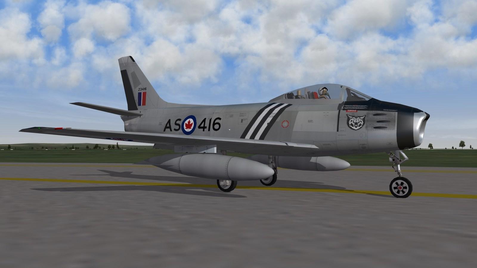 416 SQN CL-13 Sabre