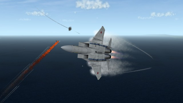 F-15J Holding Its Own in a 2020 Dogfight