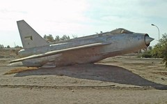 Old Kuwait Air Force Jet