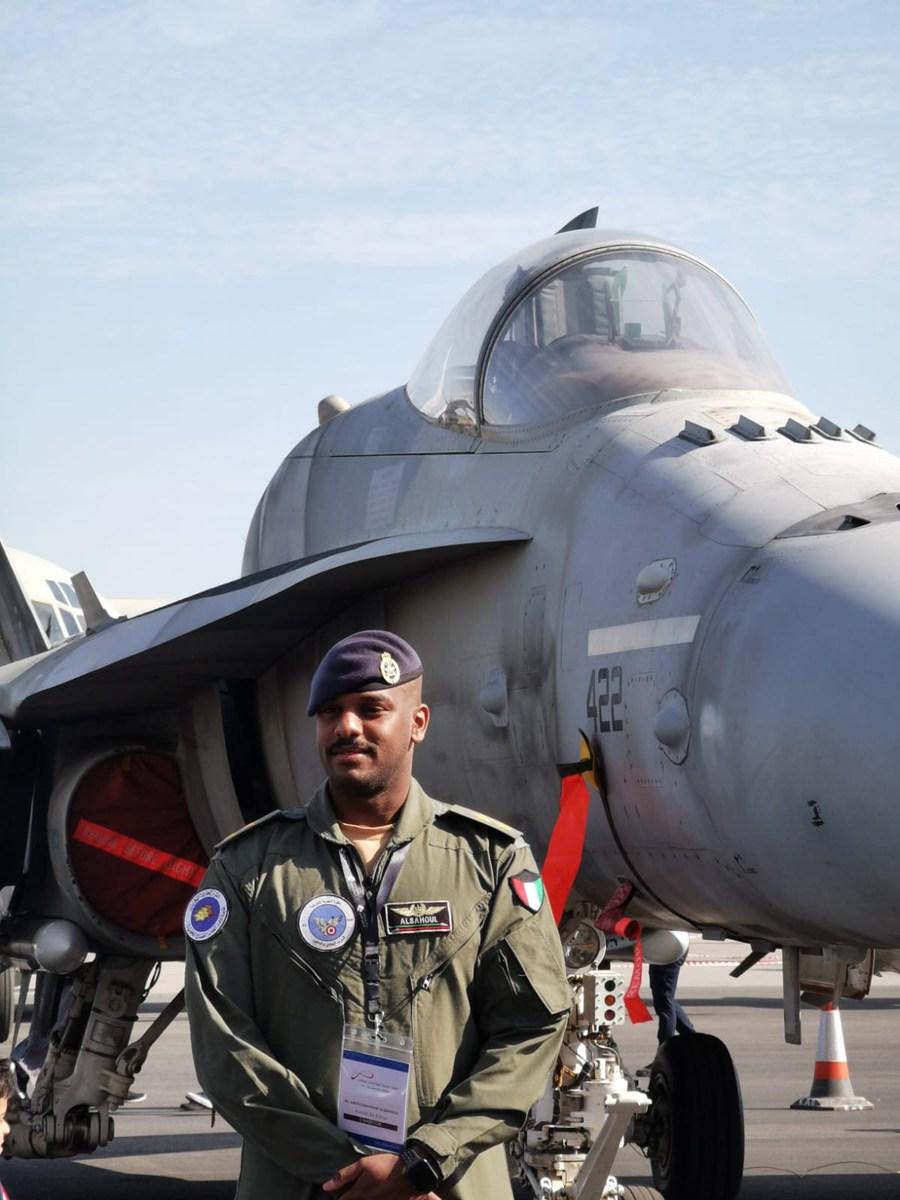 Kuwaiti F/A-18.