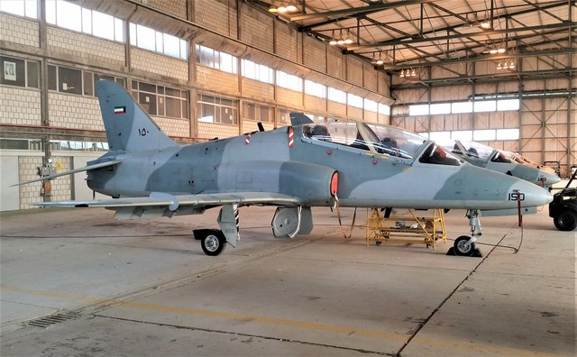 Kuwait air force training and close support jet