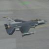F-16DM B52 Janhas on Airstrip